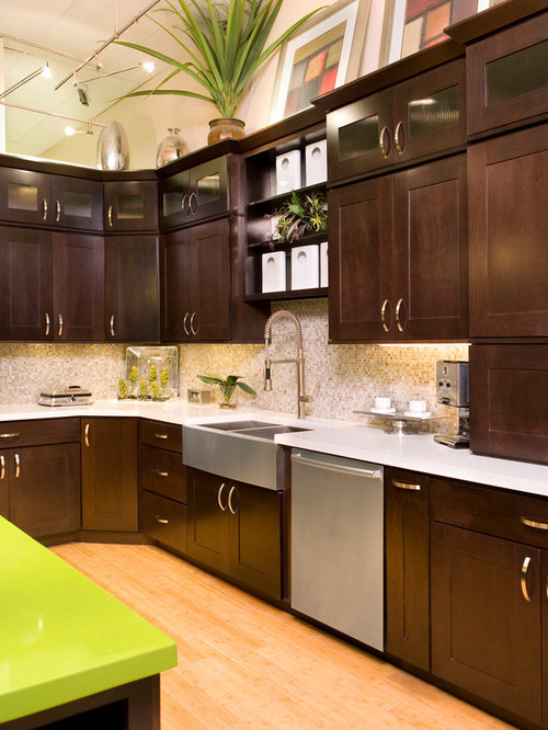 Contemporary l shaped kitchen design ideas renovations for Contemporary l shaped kitchen designs