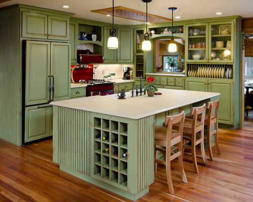 Refacing Cabinets Before After | Houzz