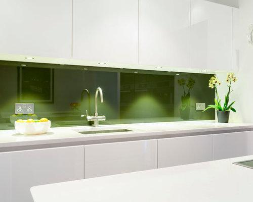 Olive kitchen design ideas remodels photos with green - Olive green kitchen ideas ...