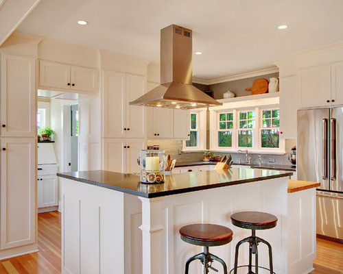 SaveEmail - Soffit Above Cabinets Houzz