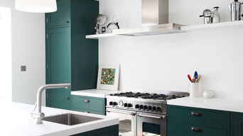 Green Shaker Kitchen