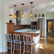 Contemporary Kitchen by Amy Cuker, MBA, LEED AP