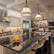 Transitional Kitchen by Key Residential