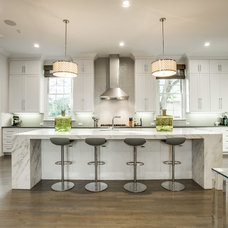Transitional Kitchen by TATUM BROWN CUSTOM HOMES
