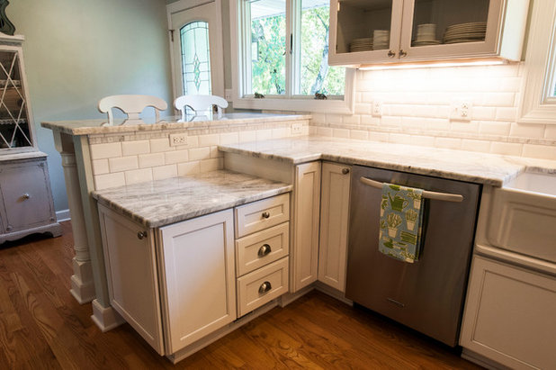 Transitional Kitchen by Renovations Group Inc