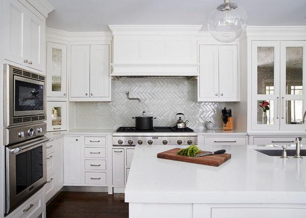 Transitional Kitchen by Studio Dearborn