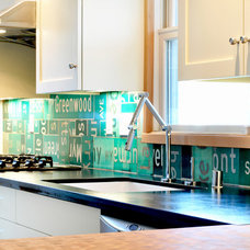 Eclectic Kitchen by Fivedot Design Build