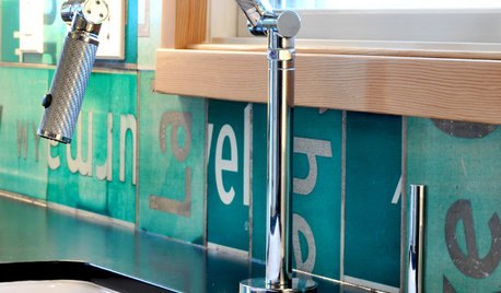 Super Backsplashes to Pair With Recycled-Paper Counters