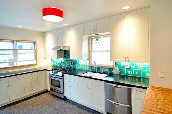 Industrial Kitchen by Fivedot Design Build