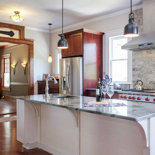 Greensboro Two-Tone Traditional Kitchen