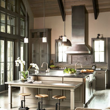 Transitional Kitchen by The Berry Group