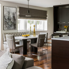 Transitional Kitchen by Eric Roseff Designs