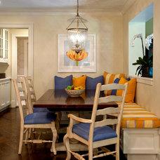 Traditional Kitchen by Diane Gerardi Design