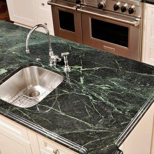 Green Marble Countertop Houzz