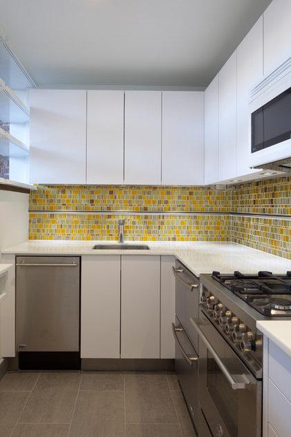 Modern Kitchen by TURETT COLLABORATIVE ARCHITECTS