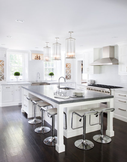 Transitional Kitchen by Tiffany Eastman Interiors, LLC