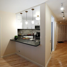 Transitional Kitchen by KBR Design & Build