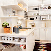 Smaller Appliances and a New Layout Open Up an 80-Square-Foot Kitchen