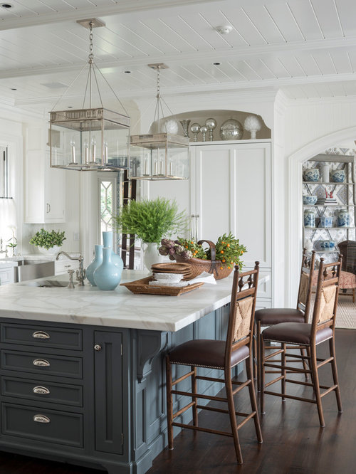 Different color kitchen island ideas pictures remodel for Different kitchen island designs