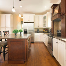 Craftsman Kitchen by Beracah Homes