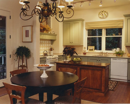 Best Rustic Kitchen with Green Cabinets Design Ideas ...