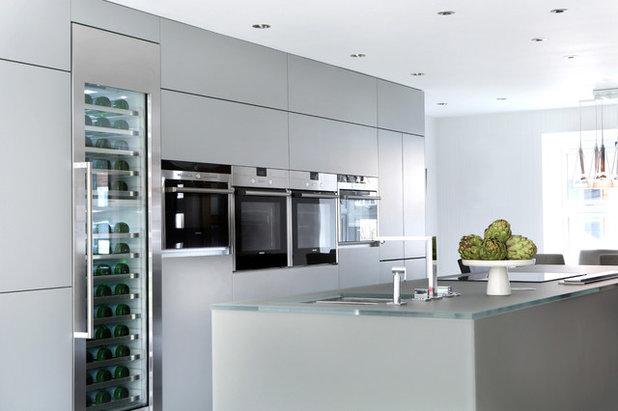 Contemporary Kitchen by LLI Design
