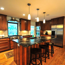 Contemporary Kitchen by Valerie McCaskill Dickman