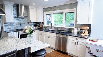 Grey and White Brandon Rd Kitchen