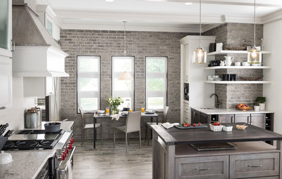 Spice Up Your Kitchen With an Unexpected Accent Wall
