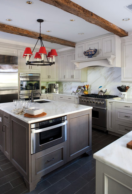 Traditional Kitchen by JACK ROSEN CUSTOM KITCHENS