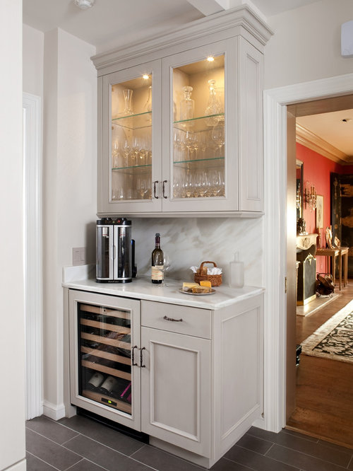 Dry bar houzz - Built in bars for small spaces collection ...