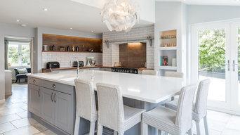 Grey Farmhouse Kitchen