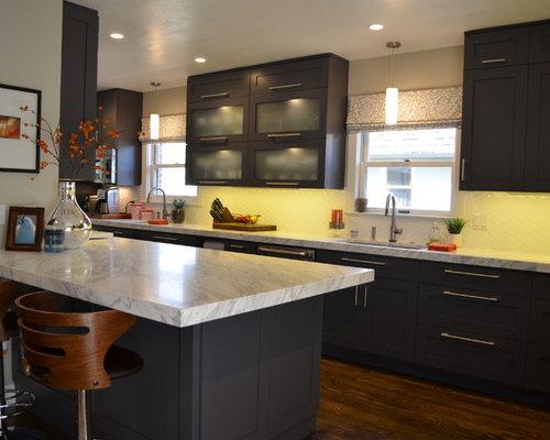 Grey Galley Shaker Kitchen - Sacramento