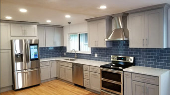 Grey Kitchen Remodel