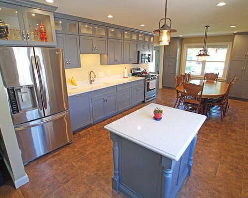 Country Kitchen Design Ideas Renovations Photos With An Island