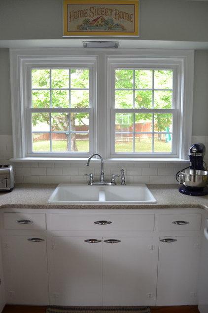 traditional kitchen by Erwin Renovation LLC