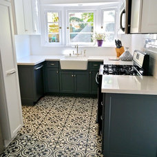 Eclectic Kitchen by Chelsea Pineda Interiors