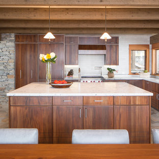 Rustic modern kitchen photos houzz - Modern rustic kitchen cabinets ...