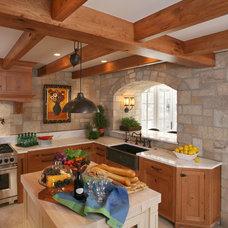 Traditional Kitchen by Kathleen McGovern Studio of Interior Design