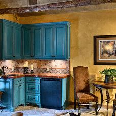 Mediterranean Kitchen by Rick O'Donnell Architect