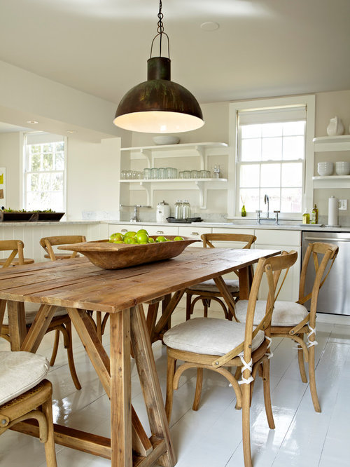 Farmhouse Eat In Kitchen Ideas   Country Eat In Kitchen Photo In New York