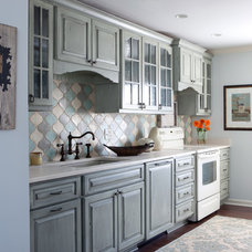 Eclectic Kitchen by Red Leaf Interiors, LLC