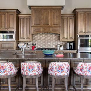 75 Beautiful French Country Kitchen With An Island Pictures Ideas January 2021 Houzz