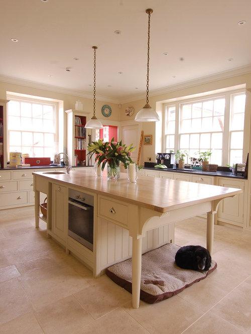 Cream colored kitchen home design ideas pictures remodel and decor - Cream colored kitchen islands ...