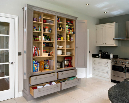 Houzz | In-Wall Pantry Design Ideas & Remodel Pictures