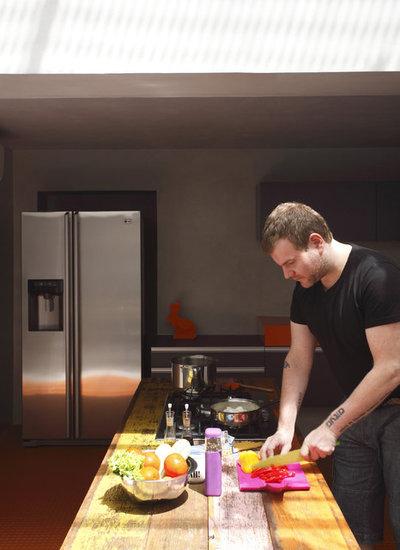 モダン キッチン by Denilson Machado - MCA Estudio