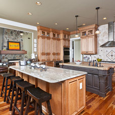 Traditional Kitchen by Greg Riegler Photography