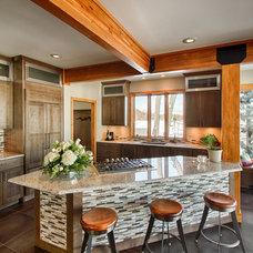Rustic Kitchen by Scholten Kitchen And Bath