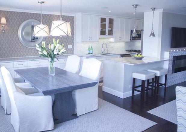 Transitional Kitchen by DLT Interiors