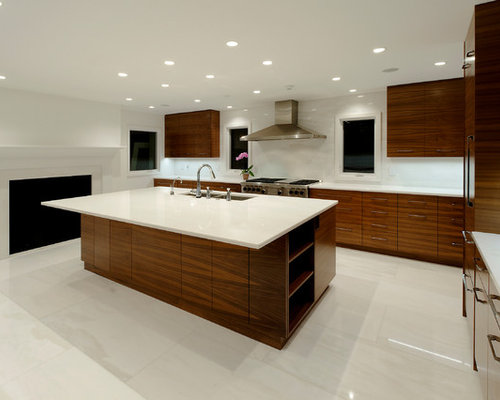 White marble floor home design ideas pictures remodel